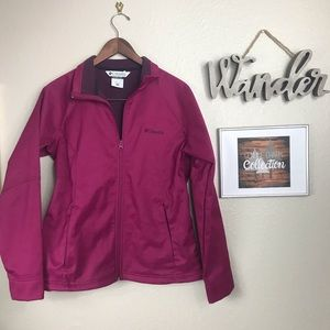 Columbia Jacket | Maroon Winter/Rain Jacket